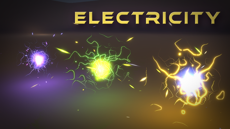 Shader Graph - Electricity - Project