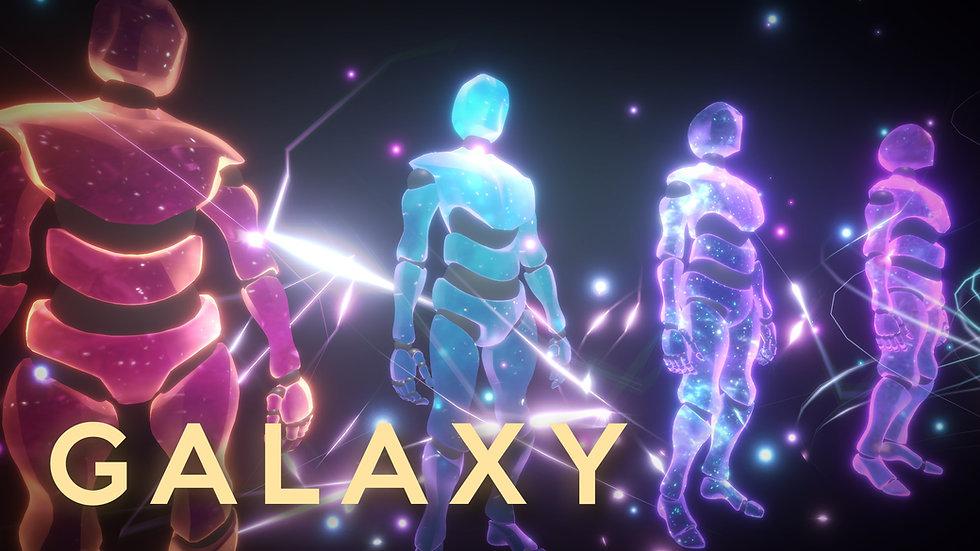 Shader Graph - Galaxy Shader- Project