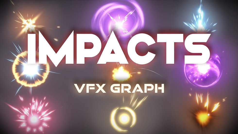 VFX Graph - Hits and Impact Effects