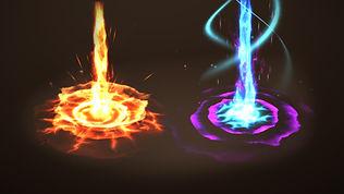 Unity Unique VFX Magic Abilities