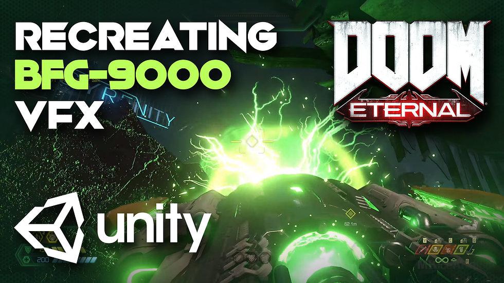 Doom Eternal BFG-9000 Shot VFX in Unity