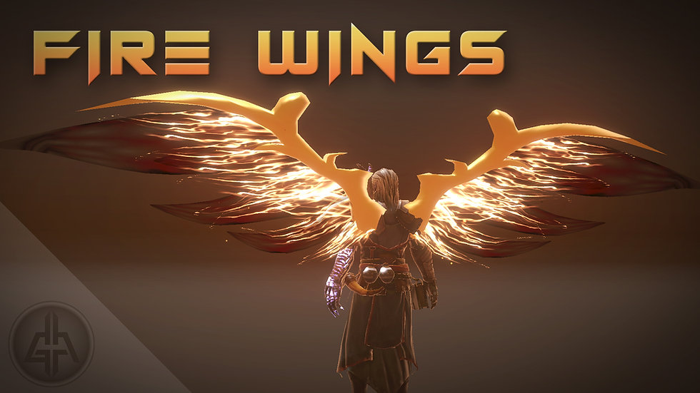 Unity VFX - Fire Wings - Project