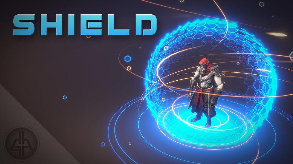 Shader Graph - Shield VFX - Project