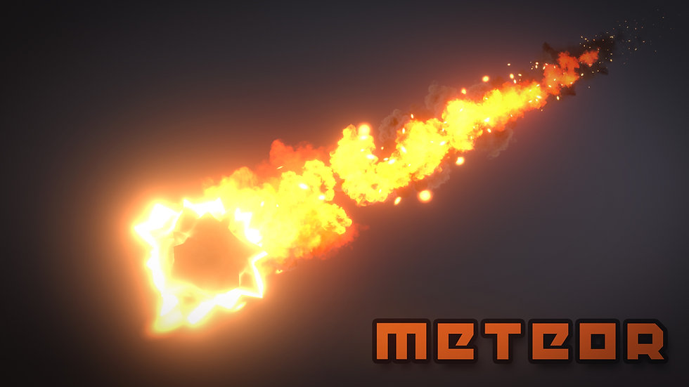 Unity VFX - Meteor - Project