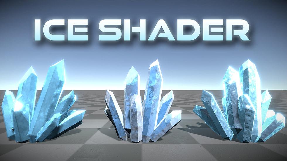 Unity Shader Graph - Ice Shader - Project