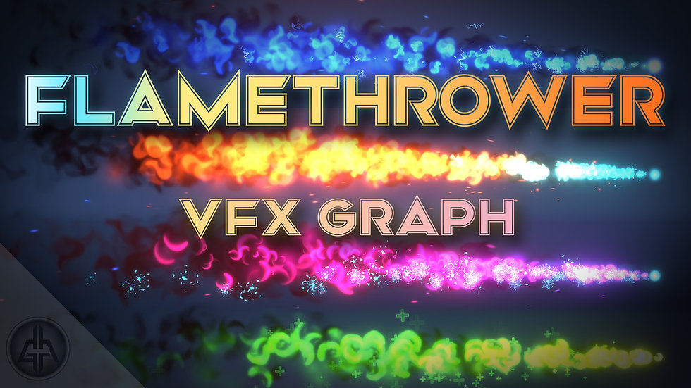 Unity VFX Graph - Flamethrower - Project
