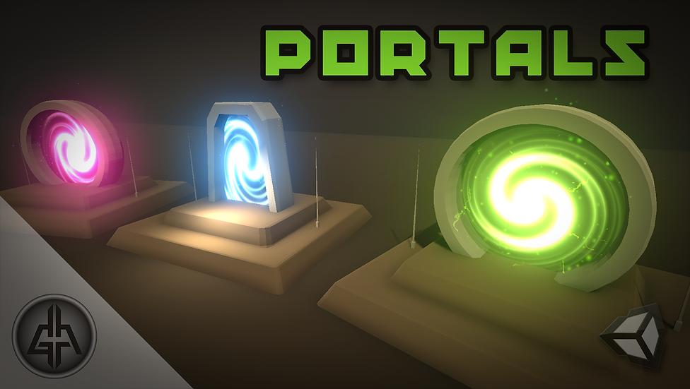 Shader Graph - Portals - Project