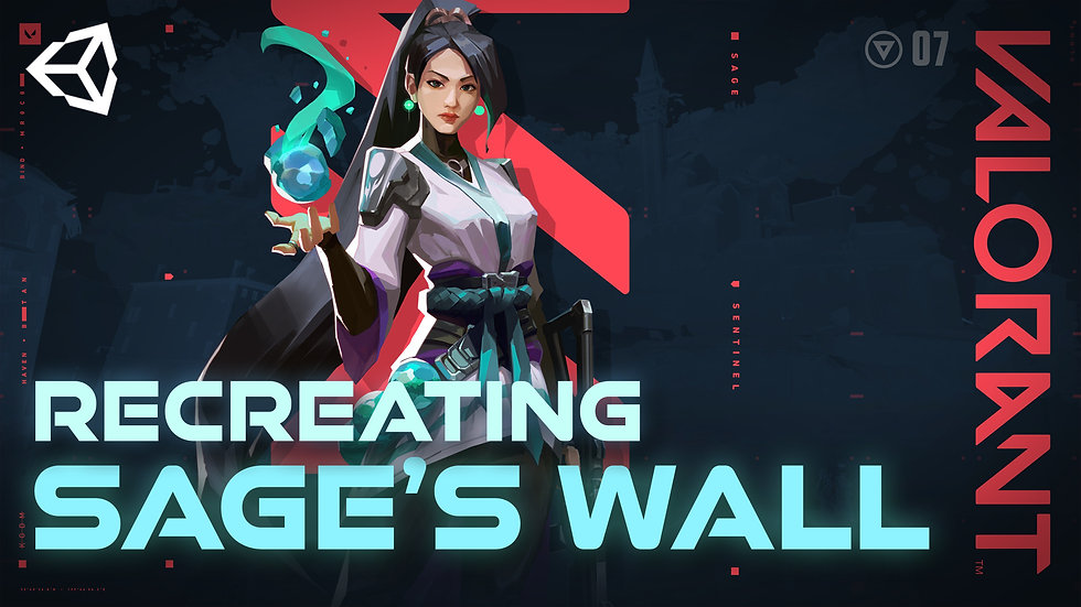 Sage's Wall from Valorant in Unity