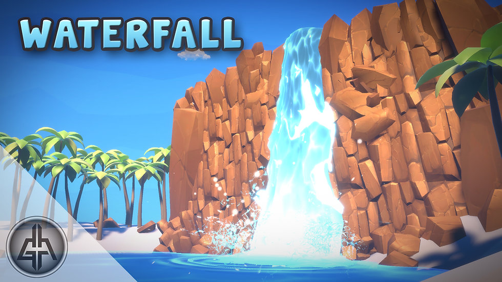 Shader Graph - Waterfall - Project