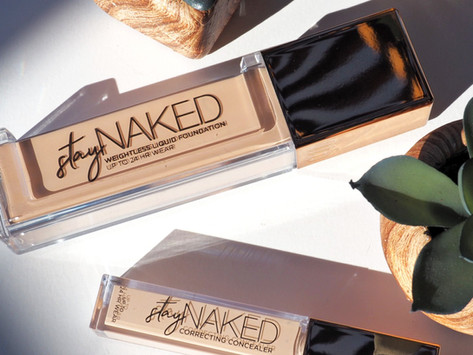 Urban Decay Stay Naked Weightless Liquid Foundation & Correcting Concealer