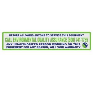 Adstick Equipment labels