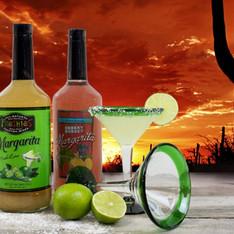 Margarita mix labels