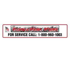 Service Call label