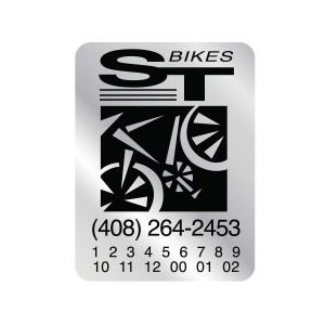Bike Labels