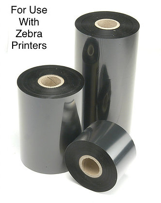 Zebra Printer Ribbon Case (quantity varies)