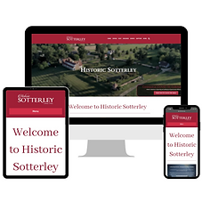 Historic Sotterley Website Design and Development