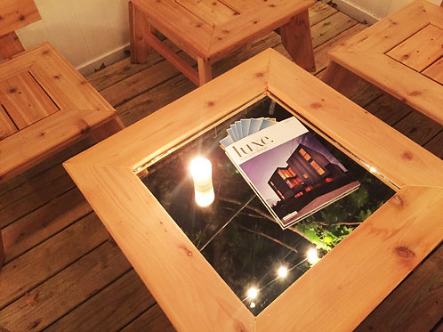Koto Mirrored Coffee Table