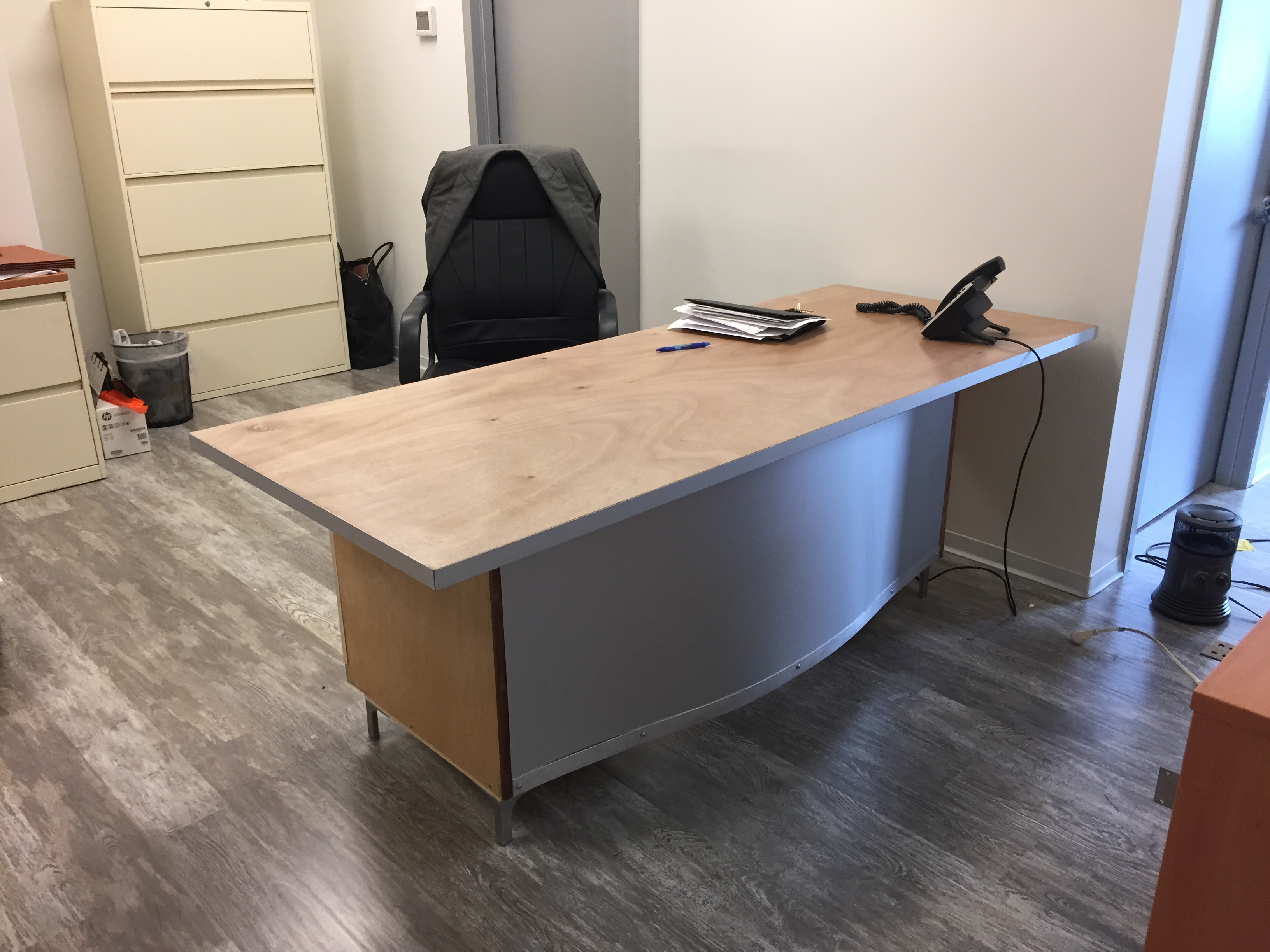 Anodized Aluminum Desk
