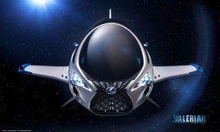 Lexus unveils (fictional) single-seat spacecraft
