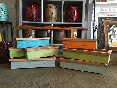 Cedar Herb Boxes