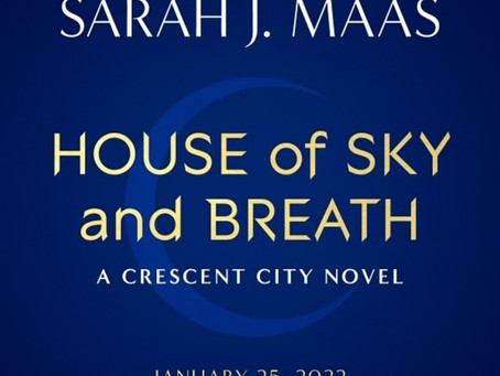 Sarah J Maas' Second Crescent City Title and Release Date