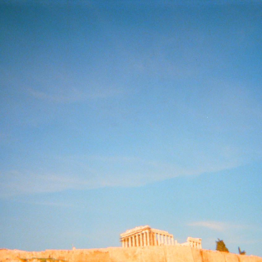 sunny Parthenon   Acropolis   Athens