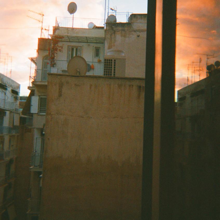crooked sunset