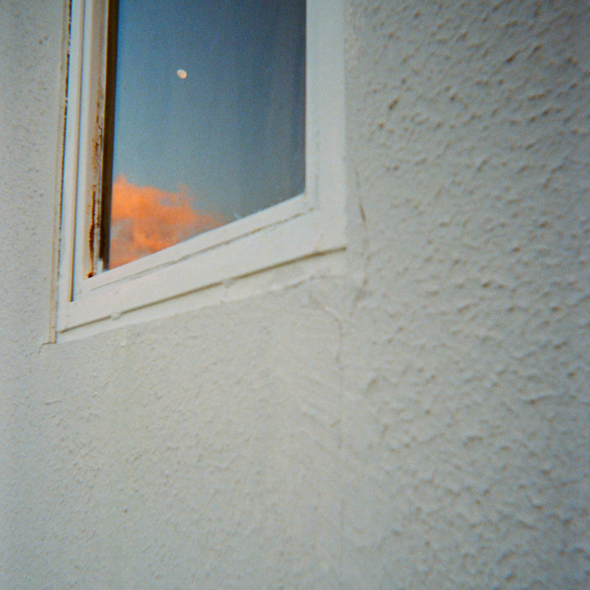 moon & dawn reflected