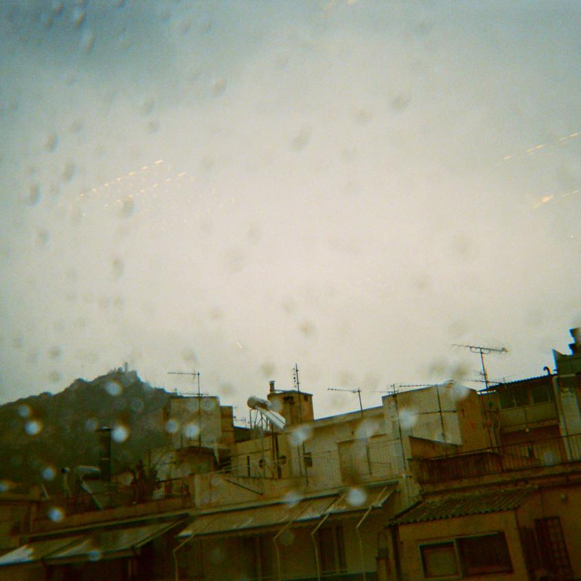 rainy Mount Lycabettus