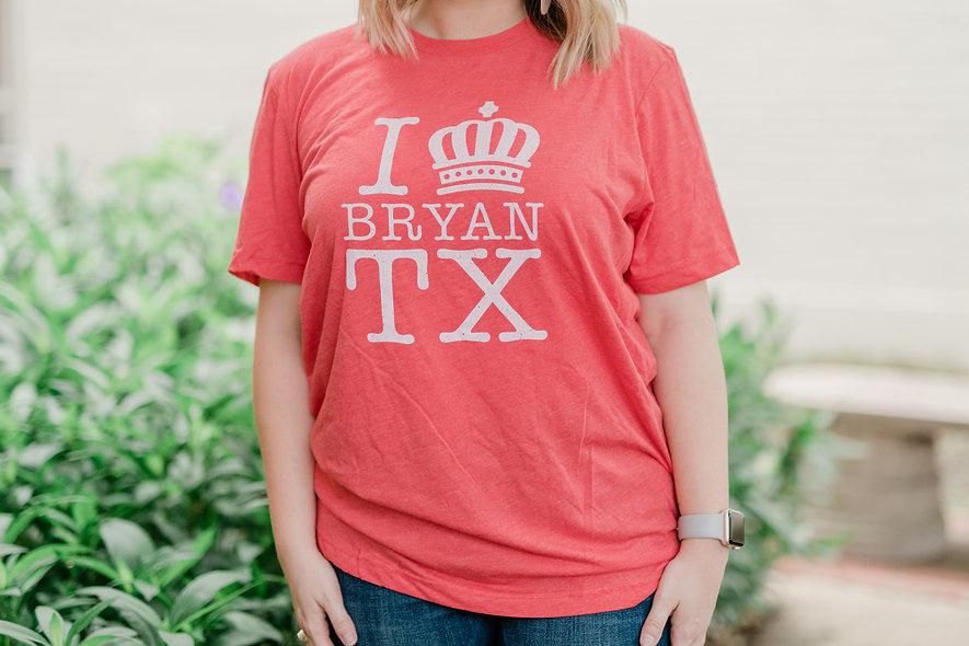 I Crown Bryan Red T-Shirt