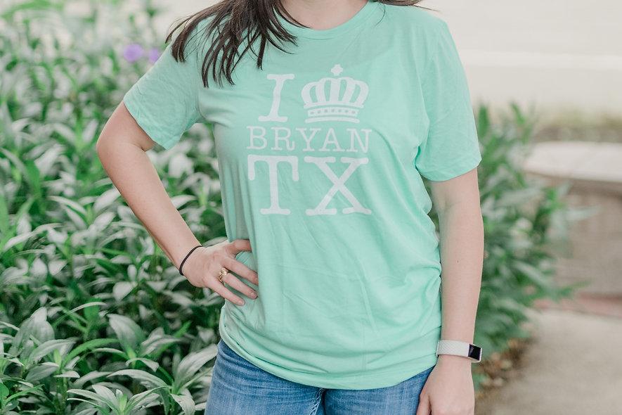 I Crown Bryan Mint T-Shirt