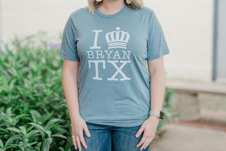 I Crown Bryan Denim T-Shirt