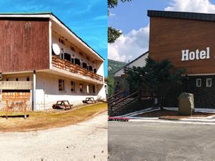 Premena Hotela Raj je výsledkom vzájomnej pomoci členov družstva