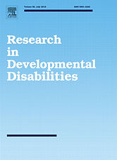 research in developmental disabilities j