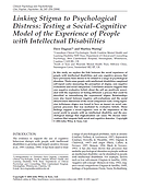 Linking stigma to psychological distress Dagnan and Waring
