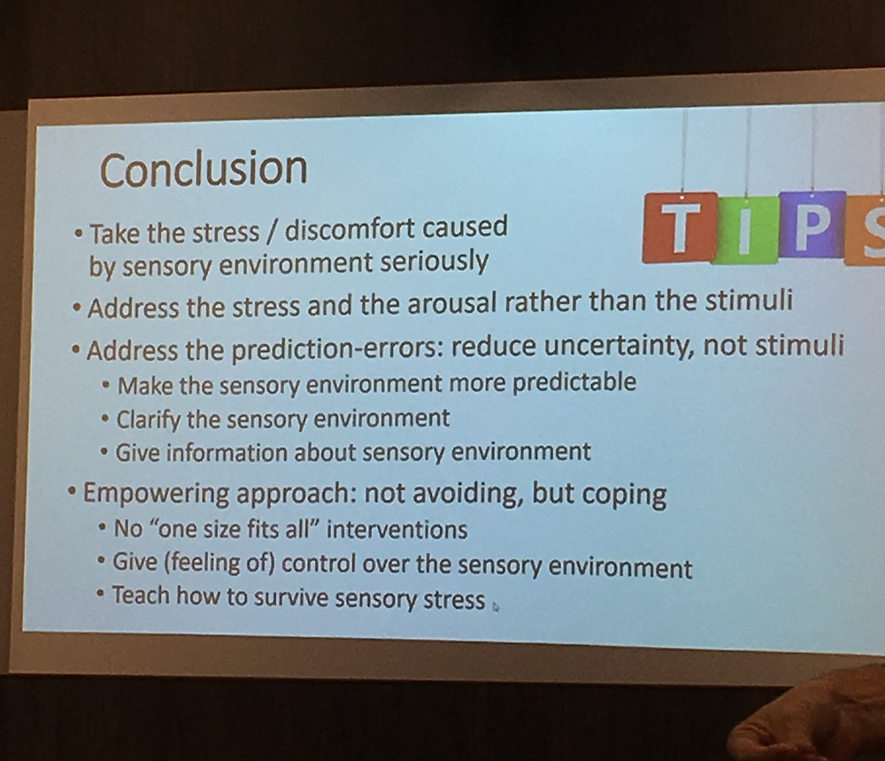 Conclusions from Peter Vermeulen's internal seminar at the Studio 3 Headquarters in October, 2019