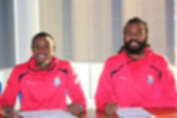 Marshall and George sign for Kordrengir.