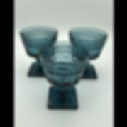 Dark Turquoise Goblets