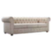 Tuffed Linen Couch