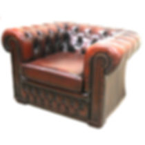 Tuffed Leather Chair