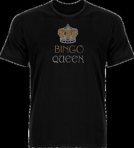 Bingo Queen T-Shirt (Gold)