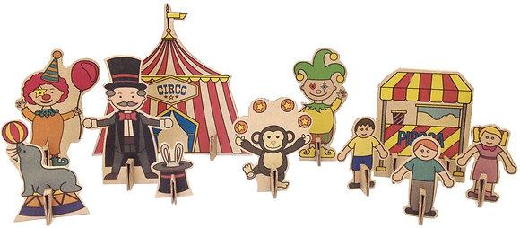 Pinte e brinque - Circo