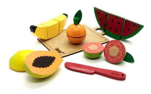 Kit frutinhas com corte - 5 frutas