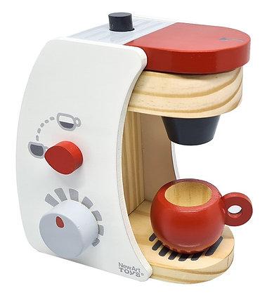 Cafeteira de madeira