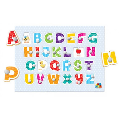 Meu primeiro quebra cabeça - alfabeto
