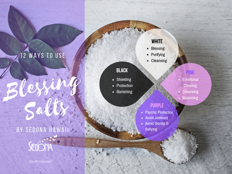 How-to Use Blessing Salts