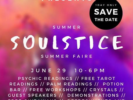 Soulstice Faire - Our Biggest Event!