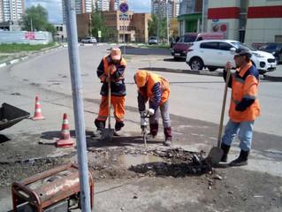 Ямочный ремонт улица 65 лет Победы