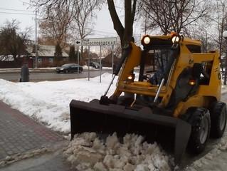 Механическая уборка снега
