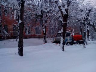 Такого снегопада давно не помнят здешние места